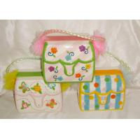 Buy cheap Colorful Ceramic Purse Bank / Saving Bank For Girl And Lady Earthenware from wholesalers