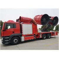 Buy cheap Rear suspension 2750mm Fire Fighting Truck Euro 5 Emission 9593 kg Chassis weight from wholesalers