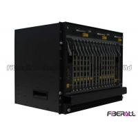 Buy cheap Dual Power Supply Optical Line Terminal , 10g EPON OLT Terminal With 40 PON SFP Slots from wholesalers