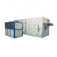 Buy cheap Quick Freezing Blast IQF Tunnel Fish Fillet Food Freezing Machine from wholesalers