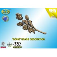 Wholesale No. BD030 Brass Roses Bronze Funeral Decoration Size 23.5*11 Cm Material Copper Alloy from china suppliers
