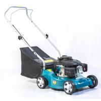 Buy cheap Plastic Deck Material Garden Electric Mowers 4 Wheels Individual 400mm Cutting Width from wholesalers