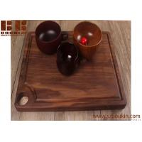 Buy cheap Super KD Wooden Serving Tray Decorative Round Tray Serve for Food Coffee or Tea (25cm, Brown) from wholesalers