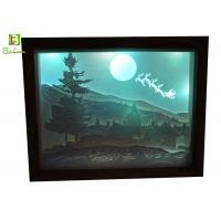 Buy cheap Retail Paper Cut Box Deep Woods Deer Inverted Image LED Backlit Blue Tooth Accessories from wholesalers