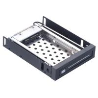 Buy cheap Unestech 2.5in sata single bay floppy drive disk case 2TB caddy tray internal hdd mobile rack from wholesalers