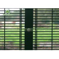 Buy cheap SGS Inspection 358 Security Fencing Panels With 76.2 * 12.7mm Mesh Hole from wholesalers
