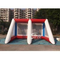 Buy cheap Kids N adults challenge inflatable penalty football goal shoot over game for outdoor event from wholesalers