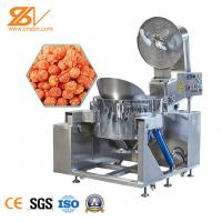 Buy cheap Fully Automatic  Industrial Popcorn Maker Pop Corn Cooker Machine  American Ball Type from wholesalers