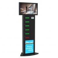 Buy cheap Fast Charge Multi Cell Phone Charging Stations With Secure Locker For Restaurant Hotel from wholesalers