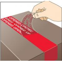 Buy cheap Duct Wrapping Polyethylene 150mic Void Warranty Sticker from wholesalers