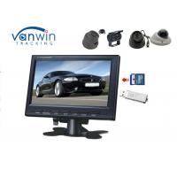 China Auto Car Tft Monitor , Sd Card Usb Interface In Car Tft Lcd Monitor Touch Screen on sale