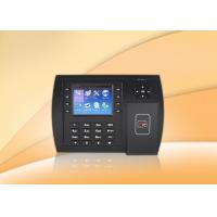 Buy cheap Web Based Rfid Time Attendance System , Biometric Attendance Clocking System product