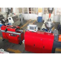 China PP PE PA PVC Single Wall Corrugated Pipe Production Line / PVC Pipe Extruder on sale