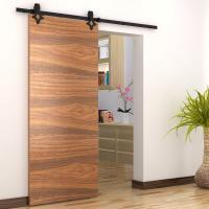China Carbon steel black ningbo other door sliding wood door barn doors sliding on sale