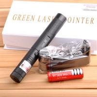 Buy cheap 500mw 1000mw/ green laser pointers 532nm burn match+key+changer+box+FREE SHIPPING from wholesalers