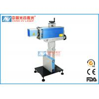 Buy cheap 10w Fiber Laser Marking Machine , Stainless Steel Ear Dog Name Tag Printing Machine from wholesalers