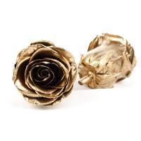 Buy cheap Gold Eternal Rose Gift , DIY Artificial Rose Heads For Christmas Decoration from wholesalers