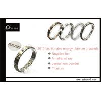 Buy cheap Health magnetic titanium bracelets customized design wristband GT-056 from wholesalers
