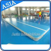 Buy cheap 10ml Light Blue Inflatable Air Gymnastics Mats For P from wholesalers