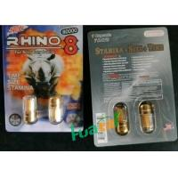 Buy cheap Rhino8 3D Double Natural Sex Male Enhancement Pills , Sex Libido Enhancer For ED Treatment from wholesalers