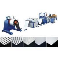 Buy cheap Suspended Ceiling Tile Forming Machine , Aluminum Tile Maker Machine from wholesalers
