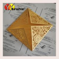 wedding invitation card laser cut suppliers hot sale wholesale price good quality luxury handmade lace