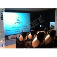 Wholesale 5D Durable Movie Cinema Motion Chair 2 Seats / set With Vibration / Jet And Shift from china suppliers