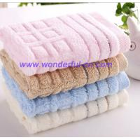 Buy cheap Customized small blue decorative bulk hand towels manufacturer from wholesalers