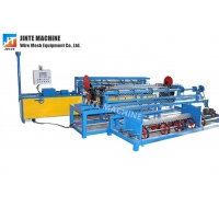 Buy cheap Manufacture fully automatic cyclone chain link mesh machine in Nepal from wholesalers