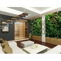 Wholesale Cheap Cool Artificial Green Wall Garden System with Quality plastic Leaves for Living Room from china suppliers