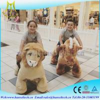 Buy cheap Hansel best selling battery operated children stuffed toys electronic ride from wholesalers