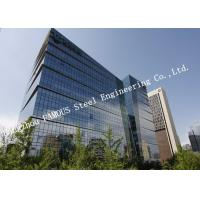 Buy cheap Aluminum Frame Insulation Double Glass Curtain Wall For Commercial Office Building from wholesalers