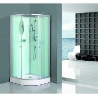 Buy cheap Bath White Sector Shower Enclosure Shinning Chrome Framed With Mirror from wholesalers