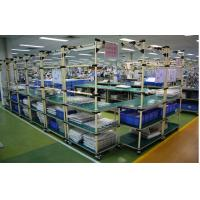 Buy cheap Warehouse Storage Flexible Heavy Duty Pallet Rack With Plastic Coated Steel Pipe from wholesalers