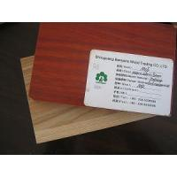 Buy cheap Double Sided Melamine MDF from wholesalers
