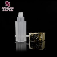 Buy cheap 2ml mini wholesale high grade Chinese Style fallen flowers frosted lip gloss tubes from wholesalers