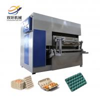 Buy cheap 2017 full automatic pulp molding machine price/paper egg crate making machine/making egg tray from wholesalers