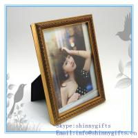 Buy cheap Shinny gifts home decorative metal fashion girl picture photo frame from wholesalers