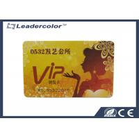 PVC VIP Magnetic RFID Plastic Card CR80 With High Frequency RFID Tags Manufactures