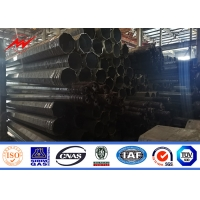 Buy cheap 9 Meter 13.4kn Galvanization Surface Treatment Tubular Pole For Electrical Line from wholesalers