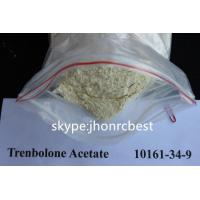 Buy cheap CAS 10161-34-9 Trenbolone Acetate / Tren Acetate Yellow Trenbolone Powder For Safe Bodybuilding from wholesalers