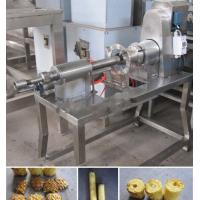 Buy cheap High Output Commercial Pineapple Peeler and Corer Machine from wholesalers