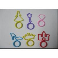 Buy cheap Fantasy  Elastic Silicone Bracelet, Silly Rubber Glow Band With OEM Shapes from wholesalers