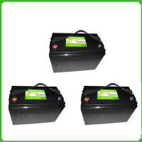 Buy cheap Rechargeable LiFePO4 lithium ion 12V 100ah solar battery pack  for solar power from wholesalers