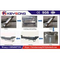 Buy cheap Fully Automatic Potato Chips Making Machine French Fries Production Line Stainless Steel from wholesalers