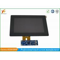 Wholesale Scratch Resistant LCD CTP Touch Screen Overlay Kit 800x480 Landscape from china suppliers