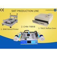 Buy cheap T962C Reflow Oven SMT Production Line 3040 Stencil Printer Chmt48vb Table Top Pick And Place from wholesalers