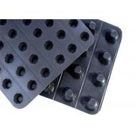 Buy cheap Geocomposite Drain PlasticDimpled Drainage Board For Water Percolation from wholesalers