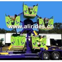 Buy cheap Mini fairground rides ferris wheel with trailer mounted carnival rides for sale from wholesalers