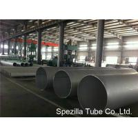 Buy cheap EFW Duplex Stainless Steel Pipe , Round Mechanical Tubing UNS S32750 A928M from wholesalers